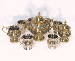 Maharajah Brass Chai Set