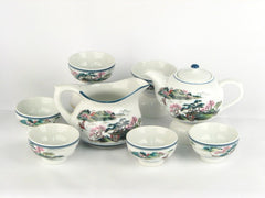 Porcelain Tea Ceremony Set