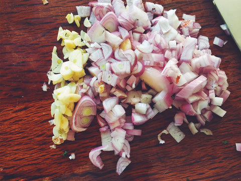 Chopped Shallot & Onion
