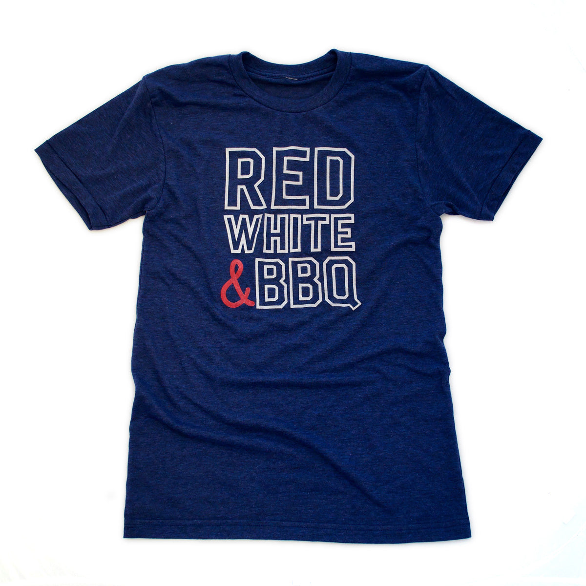 Red, White & BBQ Adult Tee