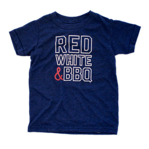 Red, White & BBQ Kids Tee
