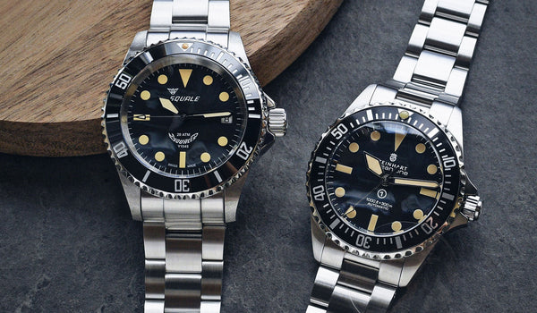 The Battle of the Uber Military Diver's Watches