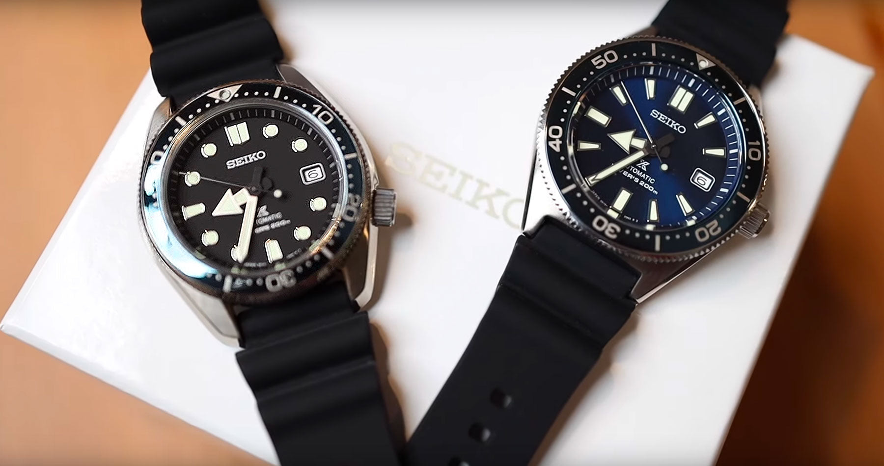 Unboxing Seiko Prospex Baby MM200 Ref. SBDC063 and 62MAS Ref. SBDC053 with Leo (Mandarin Ver.)