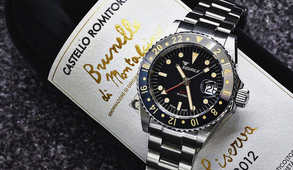 The Birth Of A Tropic GMT Diver