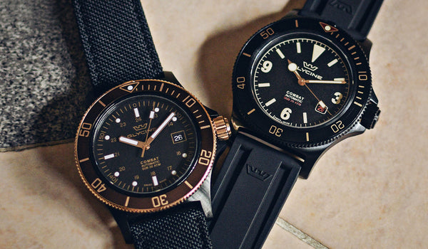 Glycine's Combat SUB: The Aviator's Soaring Military Divers