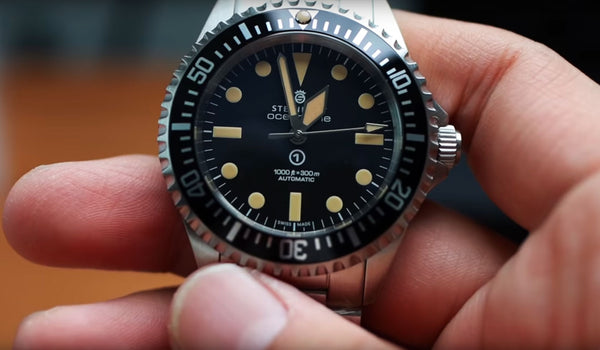 Unboxing Steinhart Ocean Vintage Military Watch with Leo (Mandarin Ver.)