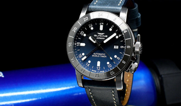 Glycine Airman: Story Behind The Pilot's Wristwatch