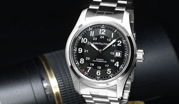 Hamilton Khaki Automatic - The History of World War Ticker