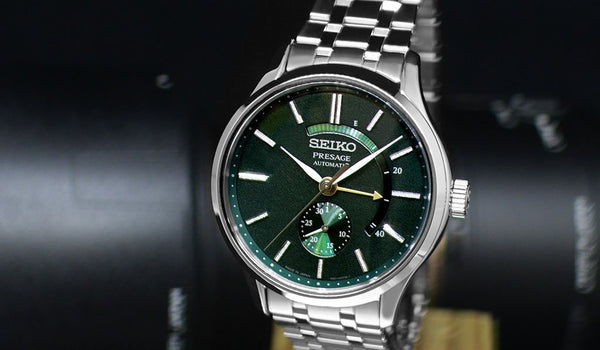 Seiko Presage Automatic: The Elegance on Every Edge