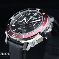 Seastrong Diver 300 Big Date Chronograph Maroon Ref. AL-372LBBRG4V6