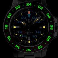 Engineer Hydrocarbon AeroGMT II Black/Red Ref. DG2018C-S3C-BK