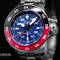 Engineer Hydrocarbon AeroGMT II Black/Red/Blue Ref. DG2018C-S3C-BE