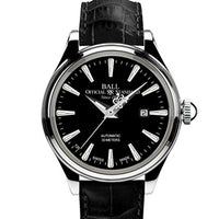 Trainmaster Eternity Black Ladies - Leather - Ref. NL2080D-LJ-BK