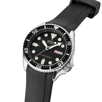 Seiko SKX Series (CB10) - Curved End Rubber Strap