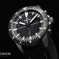 DC80 Black Bezel - Central Minutes Chrono