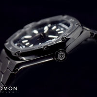 TC-1 Black PVD with 3D Hour Bezel