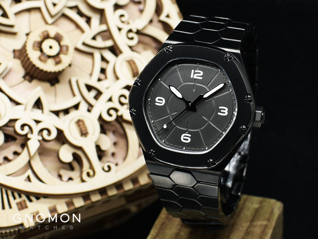 Black watches for men - Dietrich TC PVD Pure