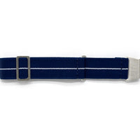 Nautical White Élastique Strap