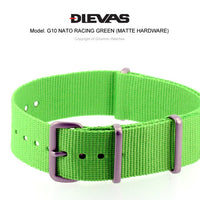 Racing Green NATO G10 Military Nylon Strap (Matte)
