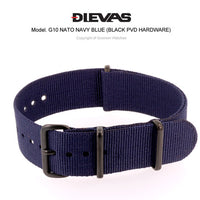 Navy Blue NATO G10 Military Nylon Strap (PVD)