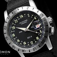 "Airman ""DC 4"" GMT Black Purist Ref. GL0072"