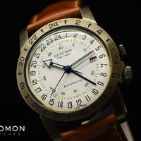 "Airman Vintage ""The Chief"" GMT Cream Ref. GL0245"