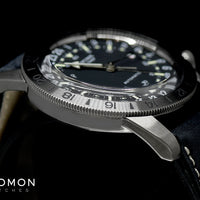 "Airman Vintage ""The Chief"" GMT Black Ref. GL0246"