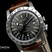 "Airman Vintage ""The Chief"" GMT Grey Ref. GL0251"