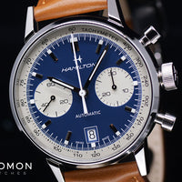Intra-Matic Chronograph Blue Ref. H38416541