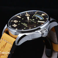Khaki Pilot Day Date Automatic Vintage - Leather Ref. H64645531