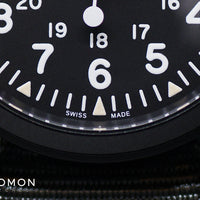 Khaki Field Mechanical Handwinding Black PVD 38 Ref. H69409930