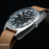 Khaki Pilot Pioneer Mechanical - Leather Ref. H76419531