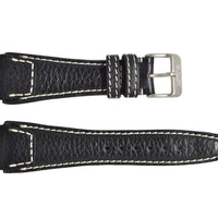 Le Jour Mark I Black Leather Strap