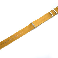 Golden Brown Seatbelt NATO Strap