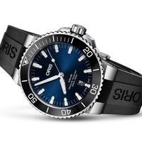 Aquis Date Blue - Rubber - 39.5mm - Ref.  01 733 7732 4135-07 4 21 64FC