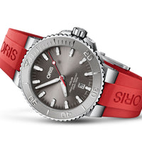 Aquis Date Relief - Red Rubber - 43.5mm - Ref. 01 733 7730 4153-07 4 24 66EB