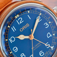 Big Crown Pointer Date Bronze Blue Ref. 01 754 7741 4365-07 5 20 71