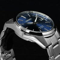 Presage Automatic Sharp Edged Aitetsu Blue Ref. SARX077