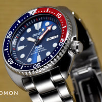 Prospex PADI Turtle 200M Automatic Blue/Red Ref. SBDY017