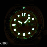 Prospex Turtle 200M Automatic Orange - Ltd Ed 500pcs - Ref. SBDY023