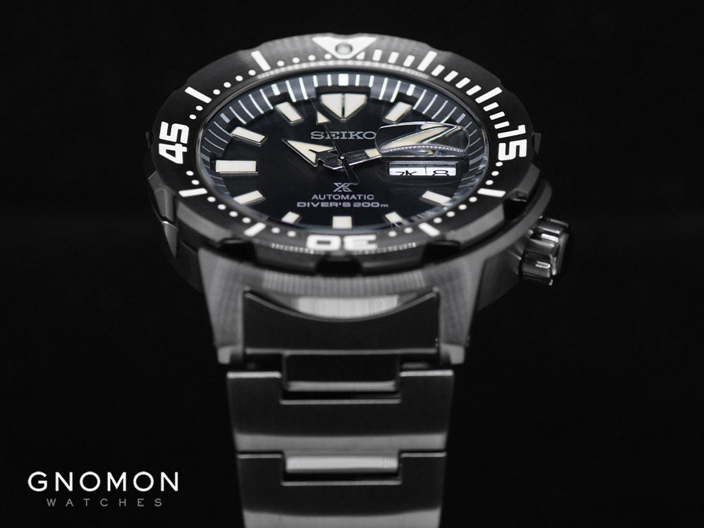 Prospex Monster Double Black Vintage 200M Automatic Ref. SBDY037