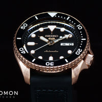 "Seiko 5 Sports ""Specialist Style"" Rose Gold Ref. SBSA028"