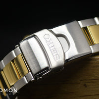"Seiko 5 Sports ""Sports Style"" Yellow Gold 40 Ref. SBSA050"