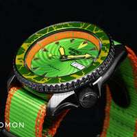 Seiko 5 Sports Street Fighter Series Blanka