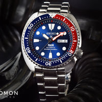 Prospex PADI Turtle 200M Automatic Blue/Red Ref. SRPA21J1