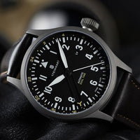 Nav B-Uhr 44mm Automatic Dual Time Titanium