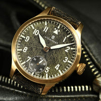 Nav B-Uhr 42 Handwind Bronze Black Antique