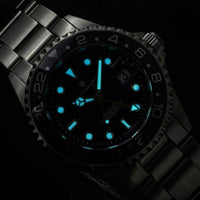 Ocean 1 GMT Black/Red