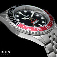 Ocean 1 GMT Black/Red - Jubilee Bracelet