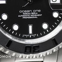 Ocean 1 Black Ceramic for Gnomon